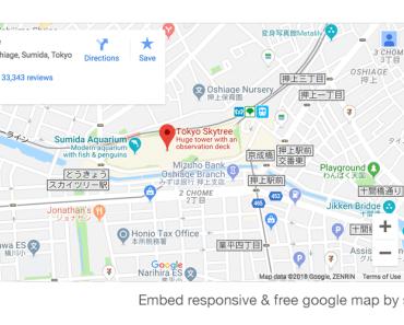 Google Maps Embed Using Shortcodes - Responsive iframe GoogleMap