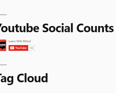 Youtube Subscribe Button Widget With Subscriber Counts - Social Counts – Youtube