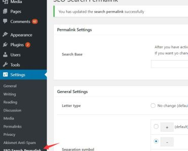 Create SEO-friendly Search URLs - SEO Search Permalink