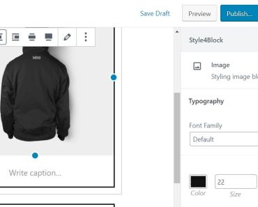 Apply Extra CSS Styles To Gutenberg Blocks - Style4Block