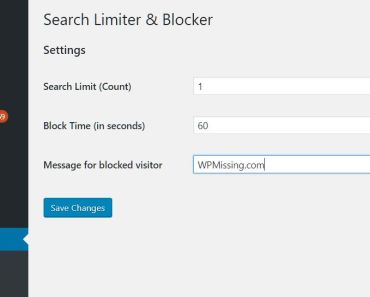 Limit Search Queries By IP Address - Search Limiter & Blocker Settings