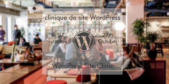 montreal meetup wordpress clinic