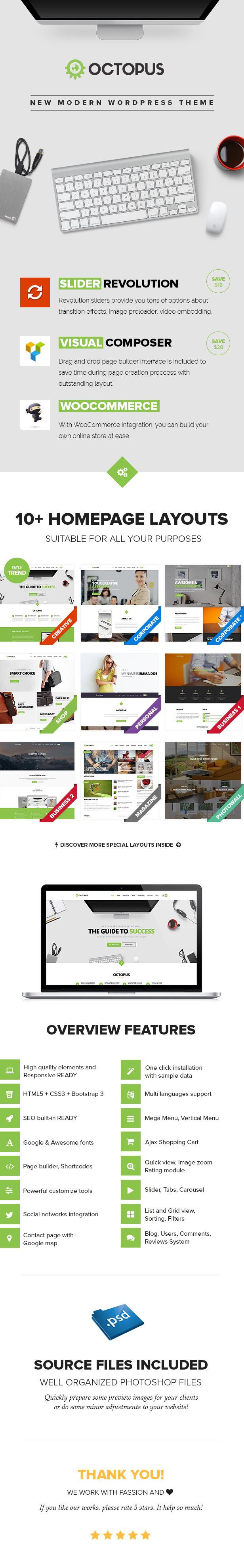 Octopus - Multipurpose Business WordPress Theme - 6