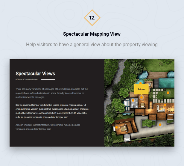 Mapping View in HouseSang Single Property WordPress Theme