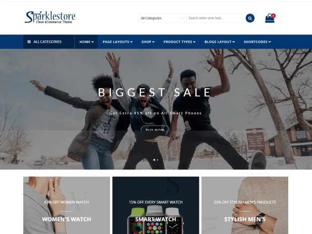 Sparklestore-pro-best premium wordpress store themes