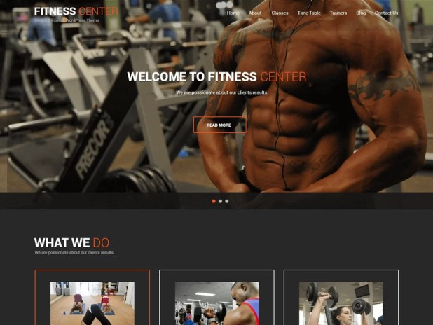 fitness-lite-free responsive WordPress theme