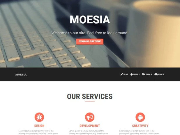 moesia-free responsive WordPress theme