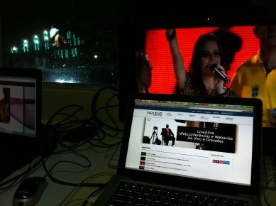 O LiveAlive foi o sistema de live streaming utilizado nos Radicais Livres.