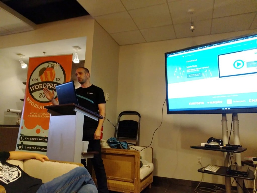 Josh Shashaty at Automating Websites WordPress Orlando Meetup