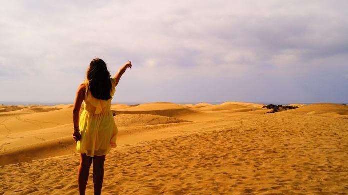 Wydmy Gran Canaria