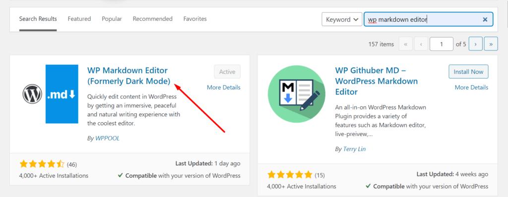 WP Markdown editor