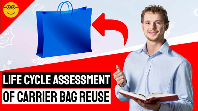 Life cycle assessment of carrier bag reuse - featured image.