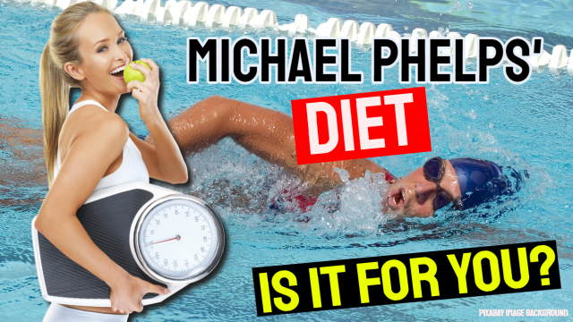 Michael Phelps diet article thumbnail.