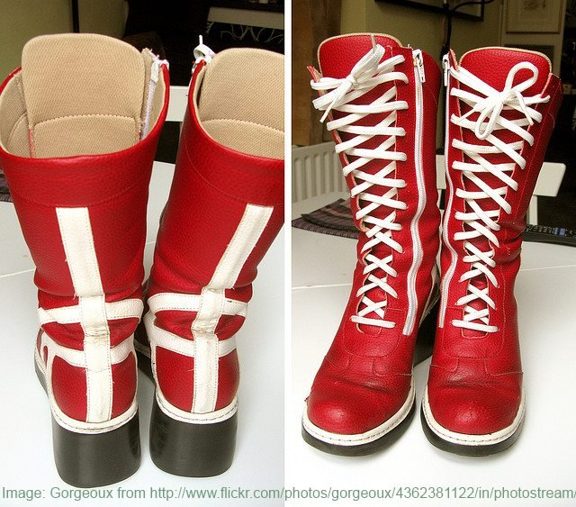 Wonder Woman Boots: How to Make Them for a Party and Where to Buy the Real Thing!