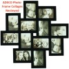 Black Collage Photo Picture Frame