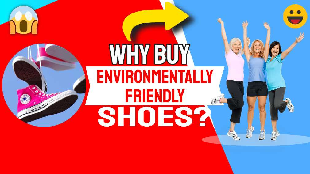 "Featured image text: ""Why buy environmentally sustainable shoes?"""