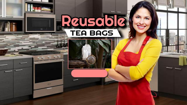 Featured image introduces the article about reusable tea bags.