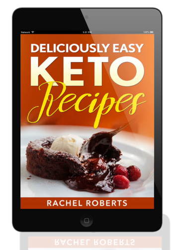 Cover image for the Keto Recipes Ebook free to all subscribers..
