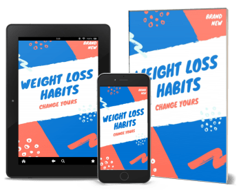 Weight Loss Habits Ebook cover image.