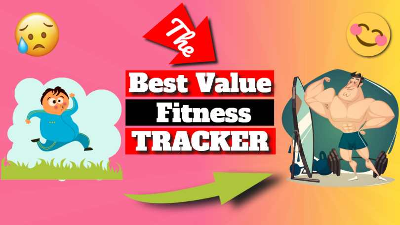 "Text in featured image: "" The best value fitness tracker""."