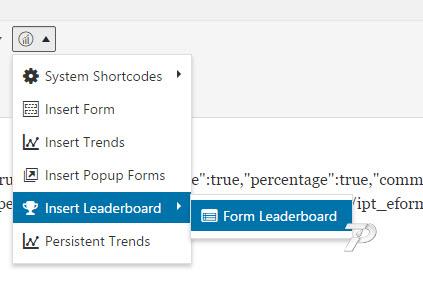 eForm-Leaderboard-Shortcode