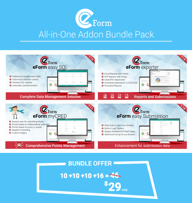 All in One Addon pack for eForm