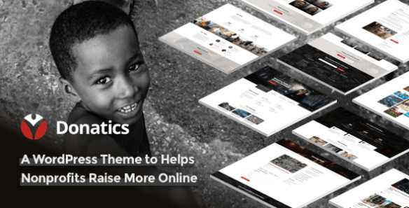 Donatics WordPress Theme
