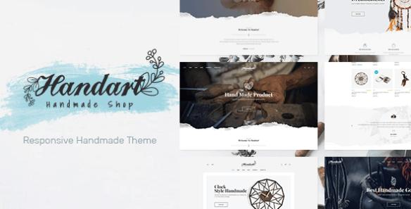 Handart WordPress theme