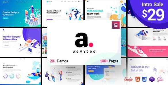 Agmycoo Wordpress Theme