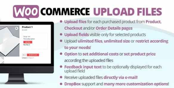 WooCommerce Upload Files Plugin