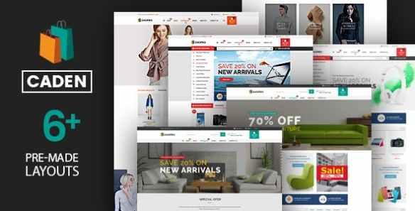 Caden WordPress theme