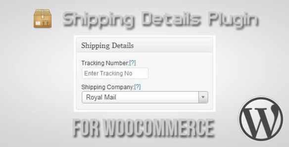 Shipping Details Wordpress Plugin