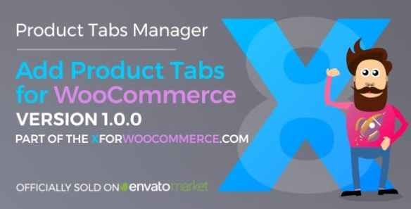 Add Product Tabs for WooCommerce Wordpress plugin