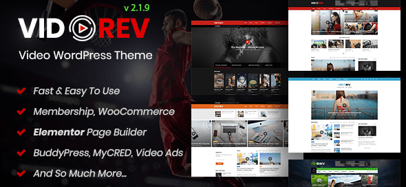 VidoRev Wordpress Theme