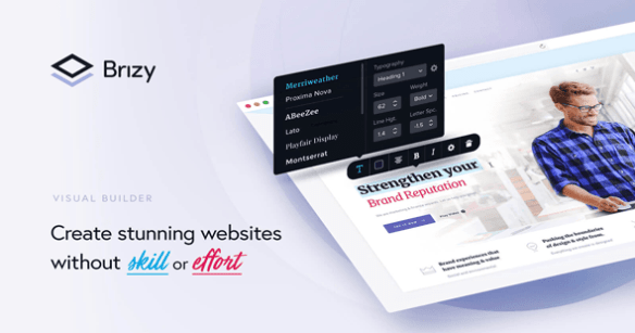 Brizy Pro WordPress Builder Plugin