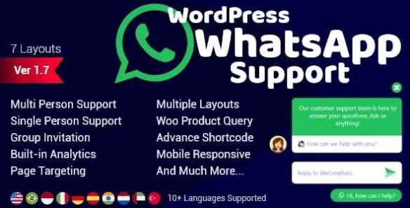 WordPress WhatsApp Support