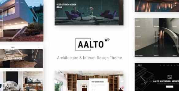 Aalto WordPress Theme - Architecture and Interior Design Theme