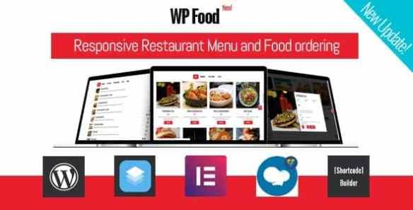 WP Food Plugin- Restaurant Menu & Food ordering
