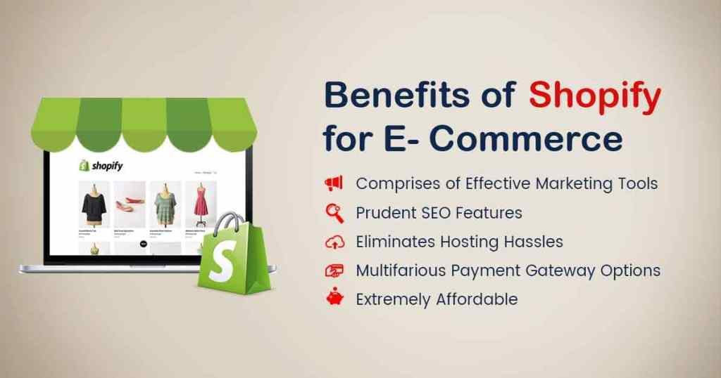 Benefits of Shopify for 2021