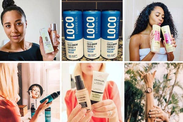 Send free trial items to Instagram influencers
