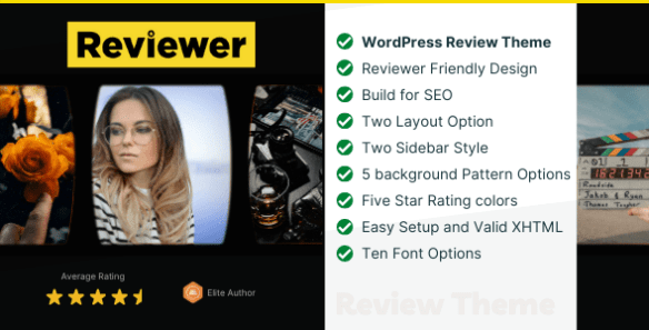 Reviewer WP Entertainment Theme Reviews