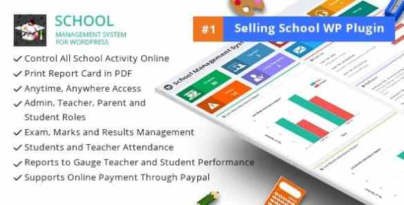 School Management System Plugin for Wordpress
