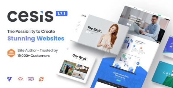 Cesis Responsive Multi Purpose WordPress Theme
