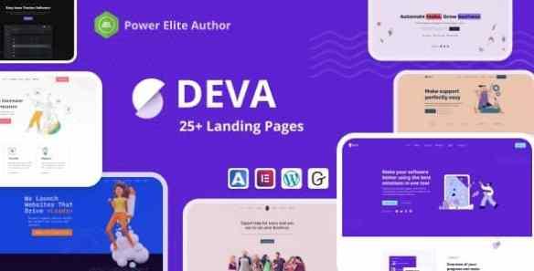Deva 30+ Landing Pages v1.0.6