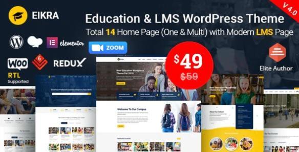 eikra-education-wordPress-theme