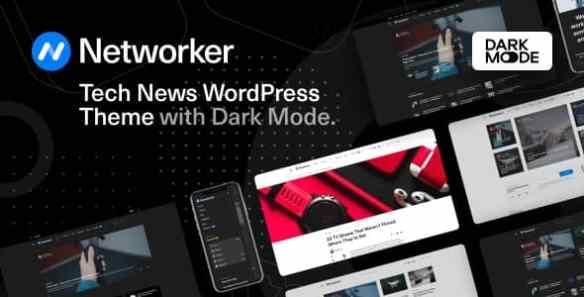 networker-tech-new-wordpress-dark-mode-theme