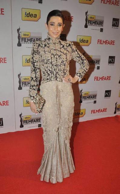 Karishma Kapoor at Filmfare Awards 2014