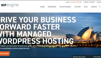 WPEngine.com - The leader in managed WordPress hosting services