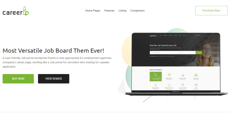 CareerUp-premium-theme-Job-Board-WordPress-WPreview