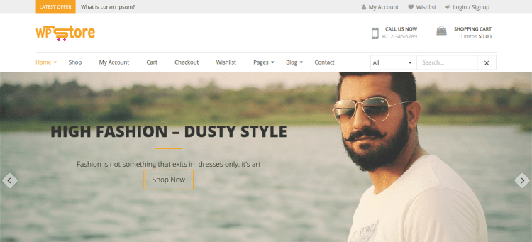Review of WP Store theme by 8 degrees